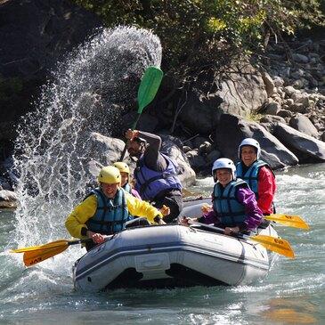 Rafting, département Hautes Alpes