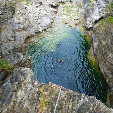Randonnée Aquatique dans les Gorges de Batch
