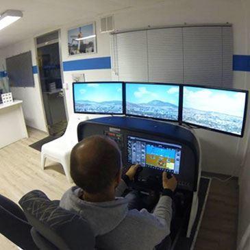 Simulateur de Vol en Avion à Aix-en-Provence