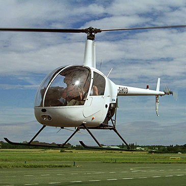 Stage initiation hélicoptère en région Haute-Normandie