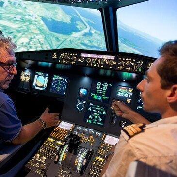 Simulateur de Vol en Avion de Ligne à Lyon