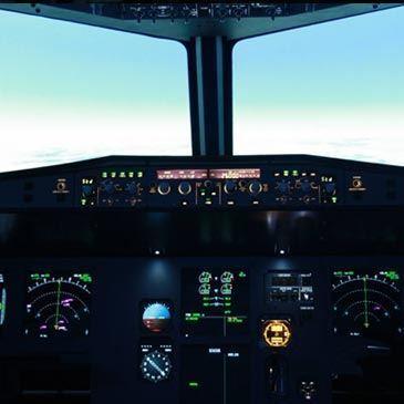 Stage sur Simulateur de Vol Avion de Ligne à Lyon