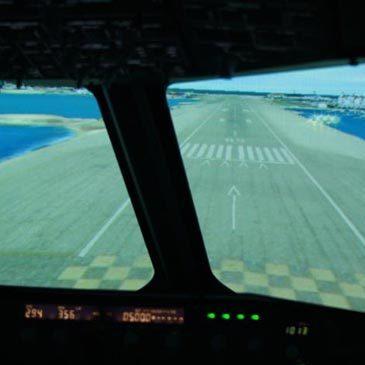 Simulateur de Vol, département Rhône