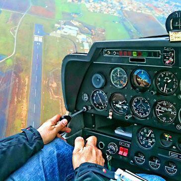 Stage d'Initiation en Avion et Simulateur à Aix-en-Provence