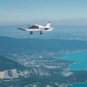 Baptême de l'air avion en région Rhône-Alpes