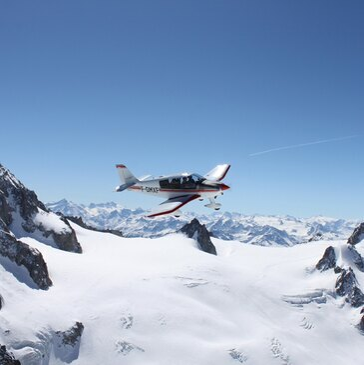 Baptême de l'air en Avion à Annecy - Survol du Mont Blanc