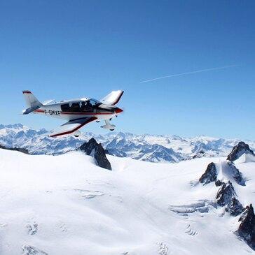 Baptême en Avion à Annecy - Survol du Mont Blanc