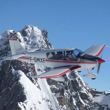 Baptême de l'air avion, département Haute savoie