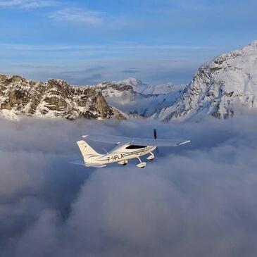 Vol d'Initiation au Pilotage d'Avion à Annecy