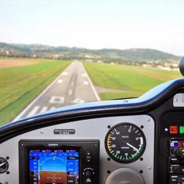 Pilotage avion, département Haute savoie