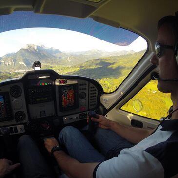 Stage initiation avion en région Rhône-Alpes