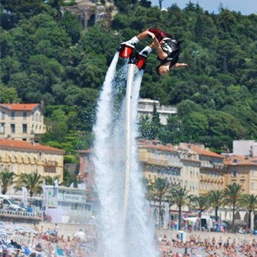 Flyboard en région Provence-Alpes-Côte d'Azur et Corse