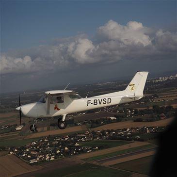 Pilotage avion, département Seine maritime