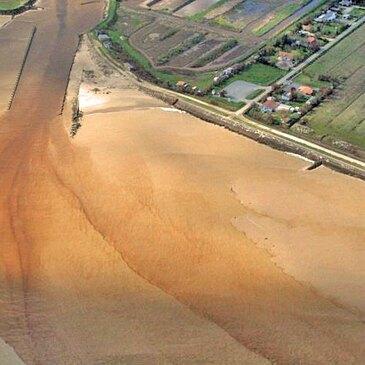 Baptême de l'air ULM survol de la pointe de Grave en région Aquitaine