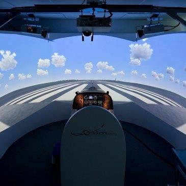Simulateur de Vol Avion à Metz
