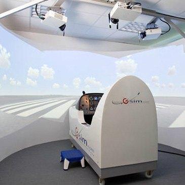 Simulateur de Vol, département Moselle