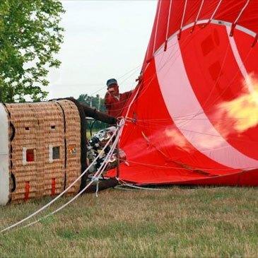 Baptême de l'air montgolfière en région Picardie