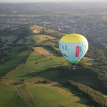 Baptême de l'air montgolfière, département Cantal