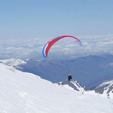 Parapente à Ski en région Midi-Pyrénées
