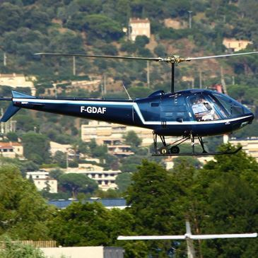 Vol initiation hélicoptère Survol Massif de l'Esterel