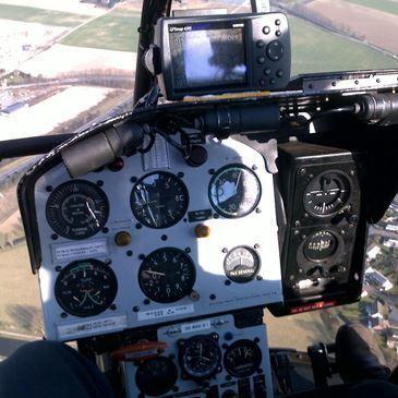 Pilotage d'Hélicoptère près de Fréjus