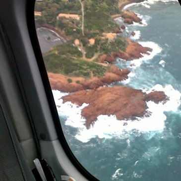 Aéroport de Cannes - Mandelieu, Alpes Maritimes (06) - Baptême de l'air hélicoptère