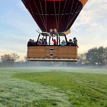Baptême de l'air montgolfière, département Deux sèvres