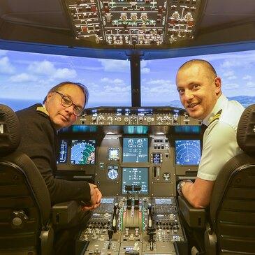 Simulateur de Vol en Avion de Ligne à Bordeaux