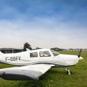Vol d'Initiation en Avion à Lognes