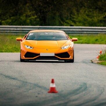 Baptême en Lamborghini Huracan sur le Circuit du Mans