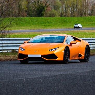 Stage de pilotage Lamborghini, département Vendée