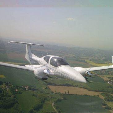 Baptême de l'air avion, département Rhône