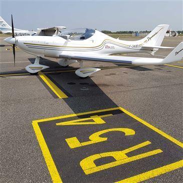 Aéroport de Lyon-Bron, Rhône (69) - Stage initiation avion