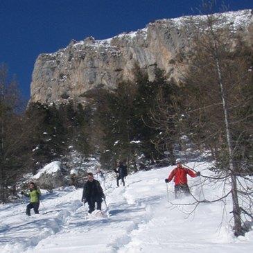 Randonnée en Raquette en région Provence-Alpes-Côte d'Azur et Corse