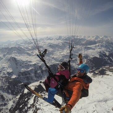 Parapente à Ski, département Savoie