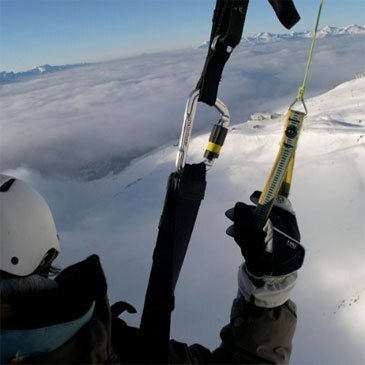 Parapente à Ski en région Rhône-Alpes