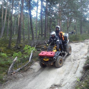 Randonnée en Quad au Puy-en-Velay
