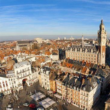 Vol en Montgolfière à Lille