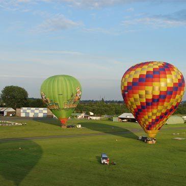 Bailleul, Nord (59) - Baptême de l'air montgolfière