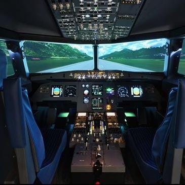 Simulateur de Vol en Avion de Ligne à Nice