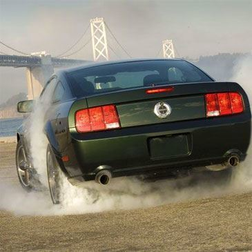 Stage de Drift en Mustang Bullit - Circuit de Mortefontaine