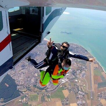Saut en parachute en région Haute-Normandie