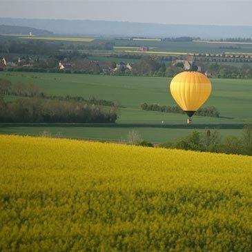 Vol en Montgolfière - Survol de Caen et du Calvados