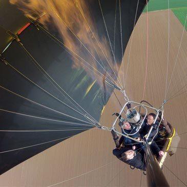 Baptême de l'air montgolfière proche Aérodrome de Falaise