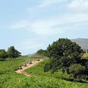 Randonnée en Quad dans le Pays Basque