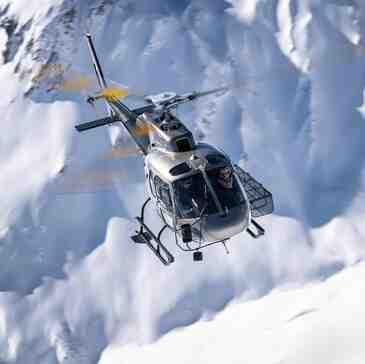 Baptême Hélicoptère, département Savoie