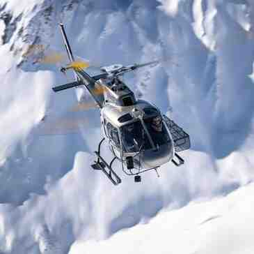 Baptême de l'air hélicoptère, département Savoie