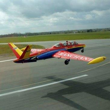 Vol en avion de chasse Fouga Aix-en-Provence