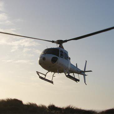Baptême de l'air hélicoptère, département Landes