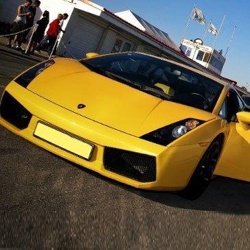 Stage Pilotage Lamborghini en région Bourgogne